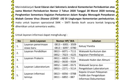 Layanan Online selama Work from Home